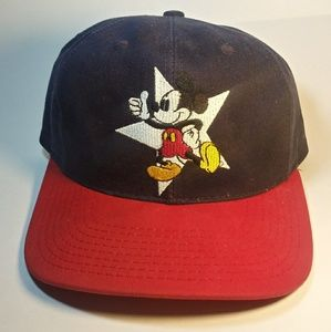 Vintage 90's Disney Mickey Mouse Snapback USA 🇺🇸